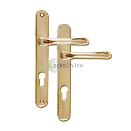 Main photo of SIENNA 85 uPVC Door Handles - 235mm (210mm fixings)