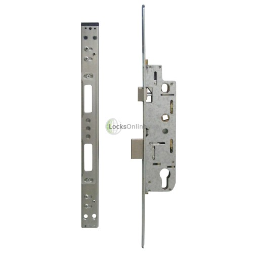 Main photo of YALE Doormaster Lever Operated Latch & Deadbolt Single Spindle Overnight Lock To Suit GU