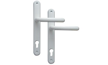 Fab & Fix Balmoral 92PZ uPVC Door Handles - 295mm (265mm fixings)