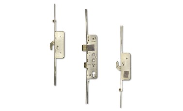 Avantis 2-Hook & 2-Rollers Twin Spindle Multipoint Door Lock