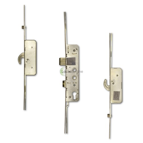 Main photo of Avantis 2-Hook & 2-Rollers Twin Spindle Multipoint Door Lock