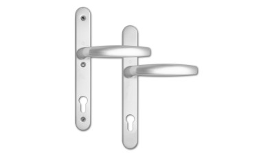 Hoppe Atlanta 92 PZ 3-Point Fix uPVC Handles - 245mm (108 + 113mm fixings)