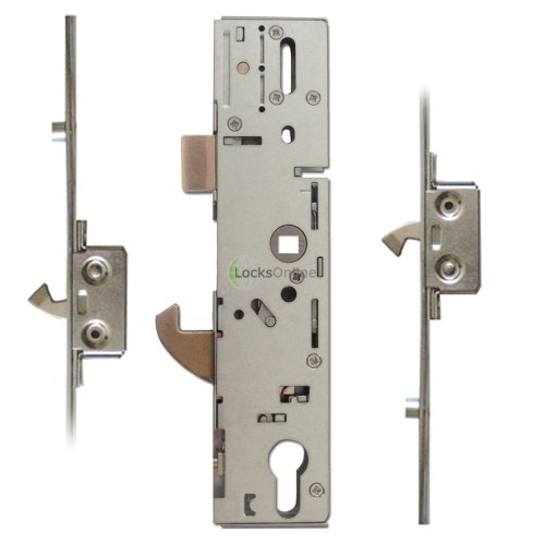 Main photo of ERA 2-Hook, 2-Roller Split Spindle Hookbolt Multipoint Door Lock