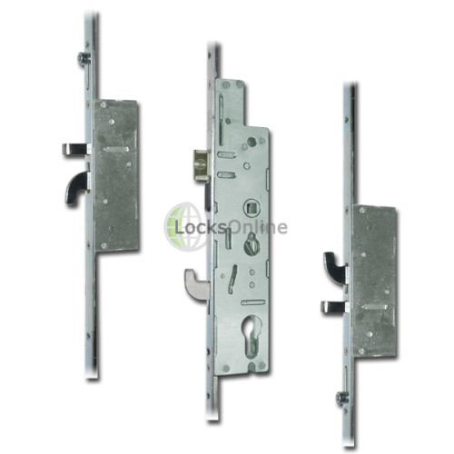 Main photo of Fullex XL Crimebeater Twin-Spindle Anti-Lift 2 Hook Multipoint (44mm Faceplate)