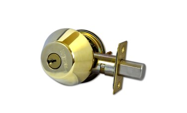 Weiser Locking Entrance Deadbolt with Double Bolt-Throw