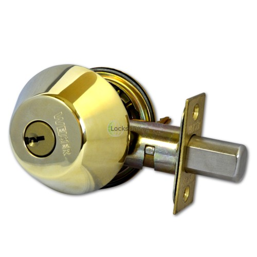Main photo of Weiser Locking Entrance Deadbolt with Double Bolt-Throw