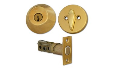 Weiser Locking Privacy Deadbolt with Double Bolt-Throw