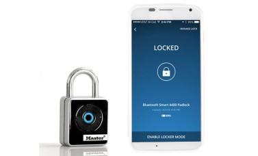 Internal Smart Bluetooth Padlock with App