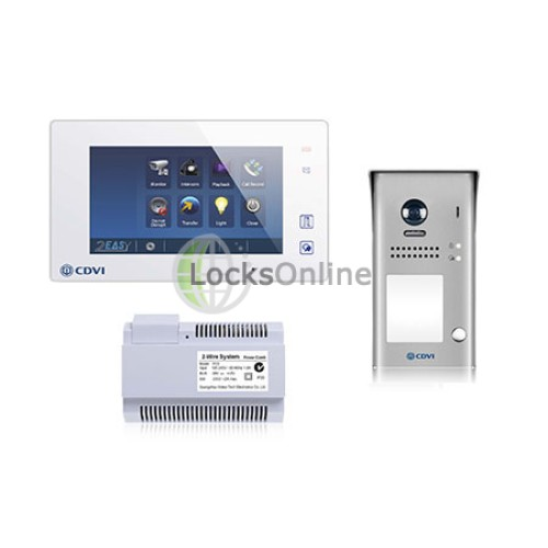 LocksOnline 2Easy Single Door Video Entry System