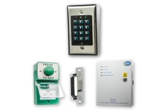Internal Door Budget Keypad Access Kit with Exit Buttons & Release