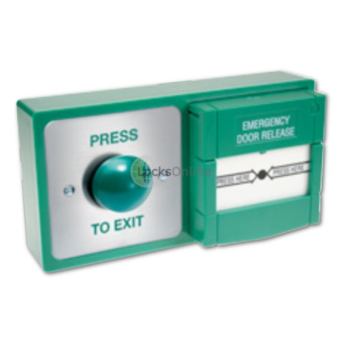 Main photo of Combined 2-in-1 Emergency Call Point & Exit Button
