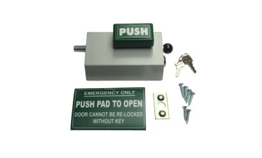 Emergency Bolt Cooper Bolt 101 Standard PUSH model