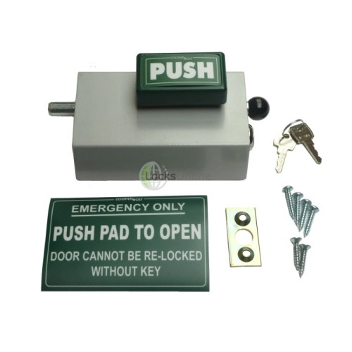 Main photo of Emergency Bolt Cooper Bolt 101 Standard PUSH model