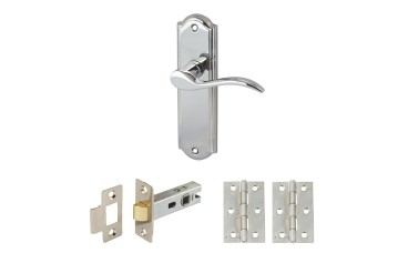 Elegance Handle Set with Latch & Hinges