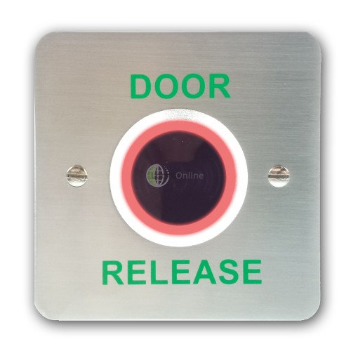 Hands-Free Contactless Door Release / Exit Button