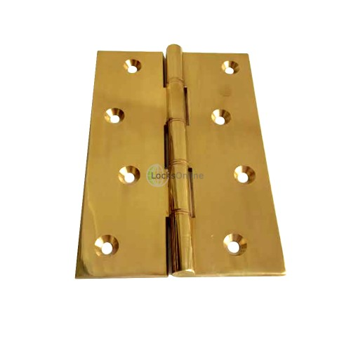 Main photo of Heavy duty brass DPBW architectural hinges