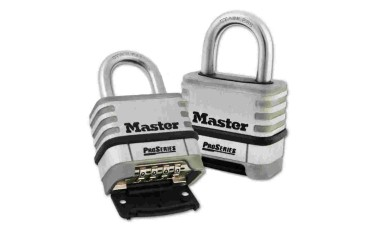 MASTER LOCK 1174D Open Shackle Combination Padlock