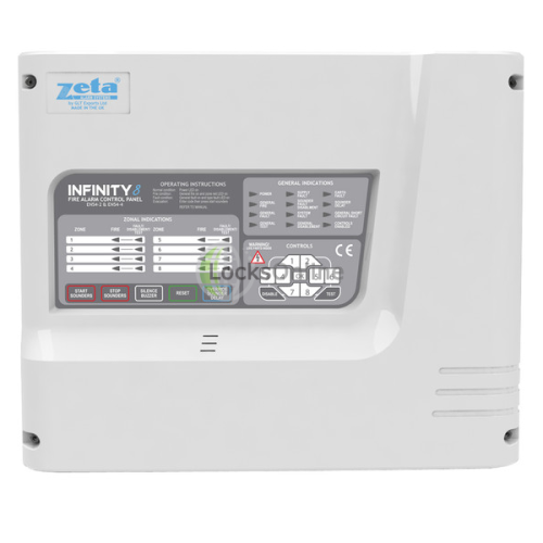 Main photo of The Zeta Premier SX Fire Panel Conventional (updated INFINITY model)
