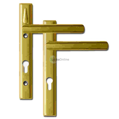 LOXTA Stealth Double Locking Lever Handle (Euro External) - 92PZ