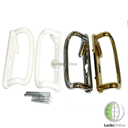 Main photo of Mila UPVC Sliding Patio Door Handle Set