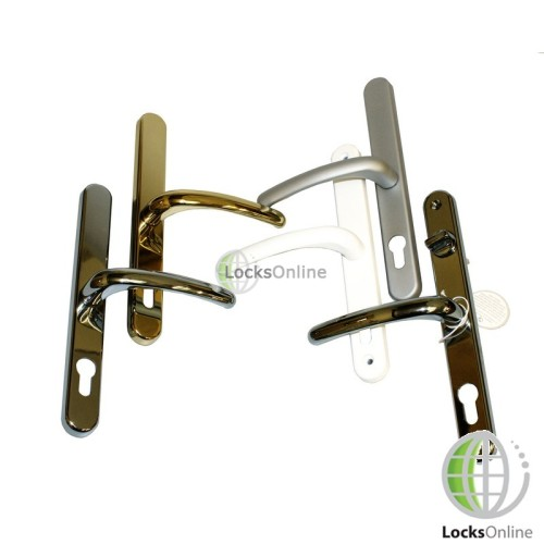 Main photo of Fab & Fix uPVC Door Handles for Fullex Locks - 250mm (215mm fixings)