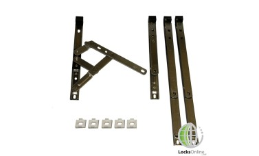 Top Hung uPVC Friction Stay (17mm Stack Height)