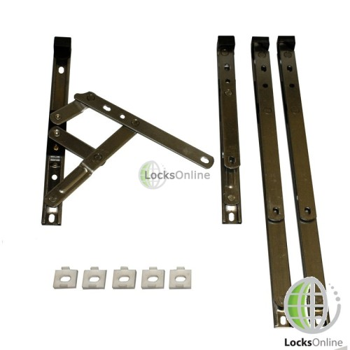 Main photo of Top Hung uPVC Window Friction Stay (13mm Stack Height)