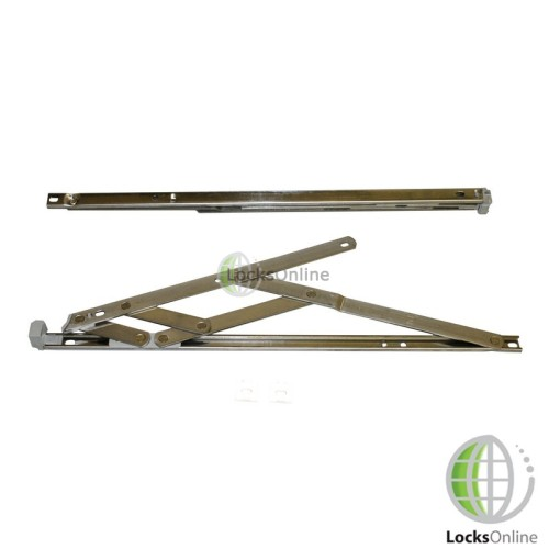 Main photo of 13mm Groove UPVC Window Friction Stays (17mm Stack Height)