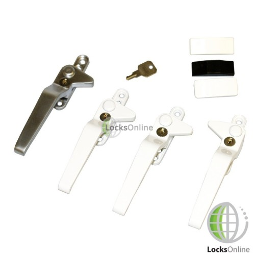 Main photo of Avocet Cockspur Metal Handles for UPVC & Wooden Windows