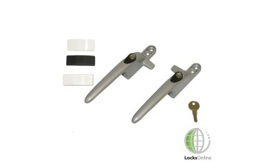 SecuriStyle Virage Cockspur Metal Handles for UPVC & Wooden Windows