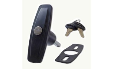 Ejector Locking Garage Door Handle