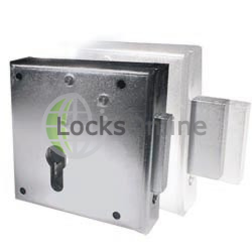 Main photo of AMF Gate Lock Heavy Duty Rim Deadlock for Gates and Doors