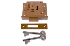 Willenhall 5 Lever Pushbutton Till Lock