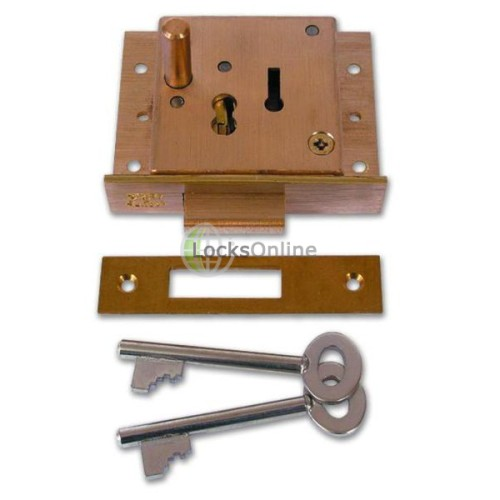 Main photo of Willenhall 5 Lever Pushbutton Till Lock