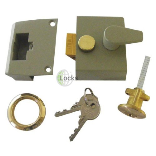 Main photo of Union 1048 Standard Stile Rim Cylinder Night Latch
