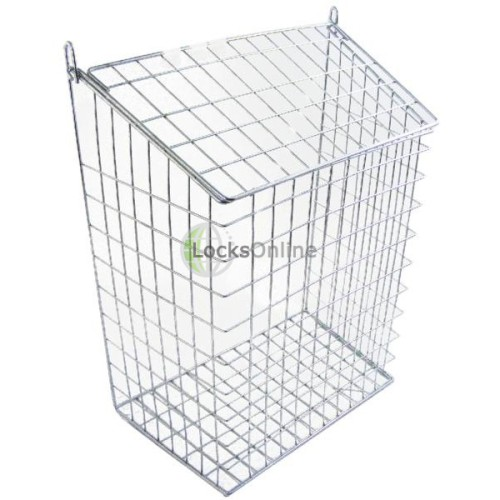 Main photo of Harvey Large Letter Cage White