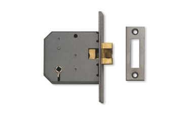 Union 2426 3 Lever Mortice Sliding Bathroom Lock