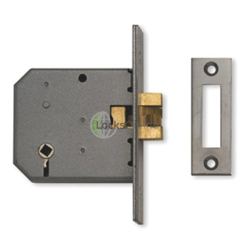 Main photo of Union 2426 3 Lever Mortice Sliding Bathroom Lock