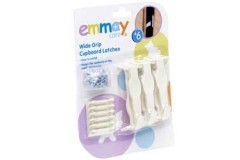 Emmay Child Proof Push Cupboard Latches