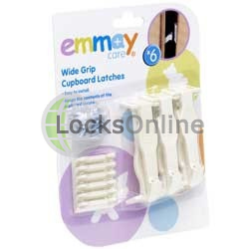 Main photo of Emmay Child Proof Push Cupboard Latches