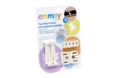 Emmay Child Proof 2 Way Cupboard and Drawer Latches