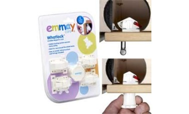 Emmay Child Proof Whatlock 4 Locks 1 key