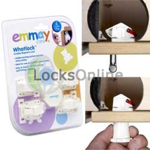 Main photo of Emmay Child Proof Whatlock 4 Locks 1 key