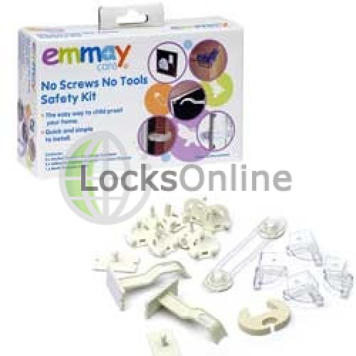 Main photo of Emmay Child Proof No Screws, No Tools Safety Kit