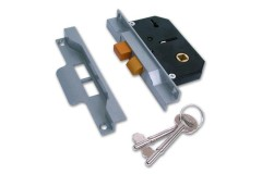 Union 2 Lever Sash Lock (Rebated)