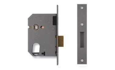 Union 21412 Escape Dead Lock c/w 2x8 Oval Cylinder