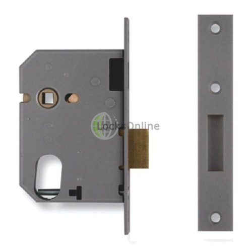 Main photo of Union 21412 Escape Dead Lock c/w 2x8 Oval Cylinder