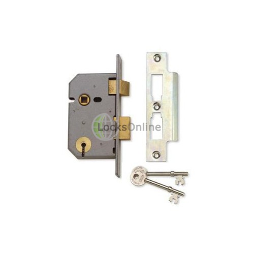 Main photo of Union 3  Lever Sash Lock Masterkeyed to RYNU
