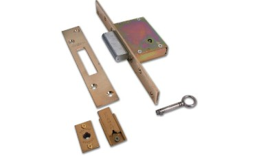 Bramah MD27 Wooden 7 slide Dead Lock