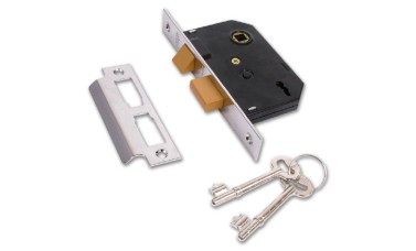 Union 2295 2 Lever Bedroom Door Locks
